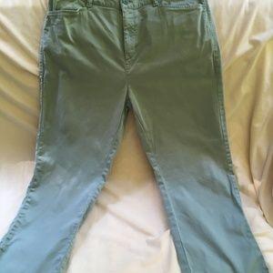 L.L. Bean garment-dyed capris